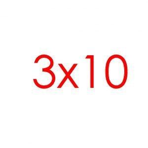 3x10 Tracks