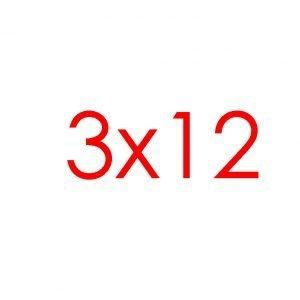 3x12 Tracks