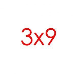 3x9 Tracks