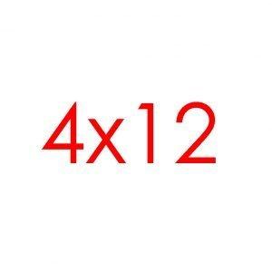 4x12 Tracks