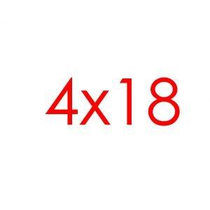 4x18 Tracks