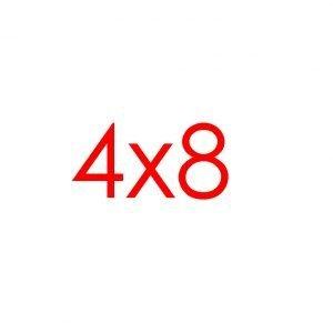 4x8 Tracks