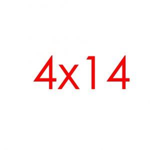 4x14 Tracks